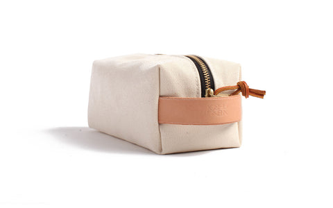 Joshu+Vela Canvas Dopp Kit