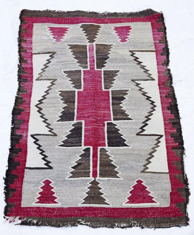 King Kennedy Navajo Rug #162
