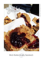 Birch Butter & Jelly Bannock Sandwich