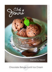 Chocolate Beluga Lentil Ice Cream