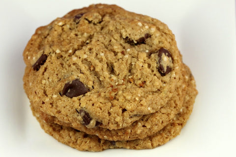 quinoa chocolate chip cookie