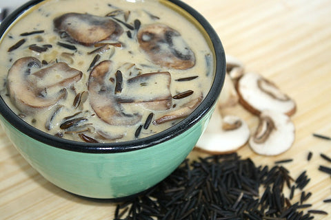 Saskatchewan Wild Rice and Mushroom Soup