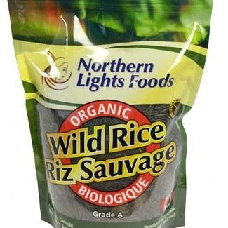 Northern Lights Foods - Organic Wild Rice (1 kg)