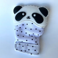 Babe and Beads- Panda Teething Mitt