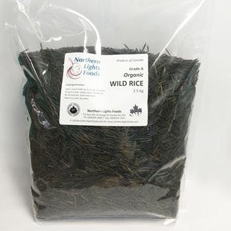 Northern Lights Foods - Organic Wild Rice (2.5 kg)