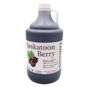 Pearson's Berry Farm - Saskatoon Lemonade Concentrate (1 litre)