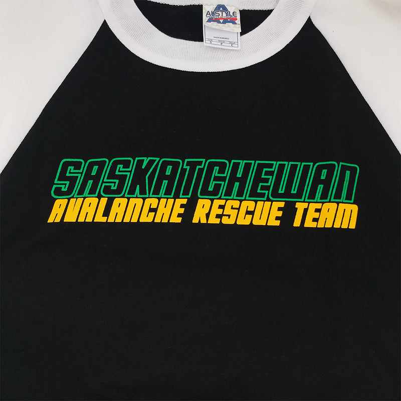 Avalanche Rescue Baseball T-Shirt