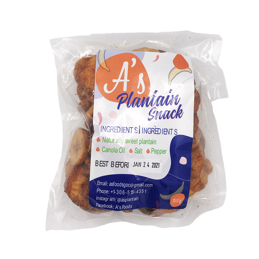 A's Foods Plantain Chips