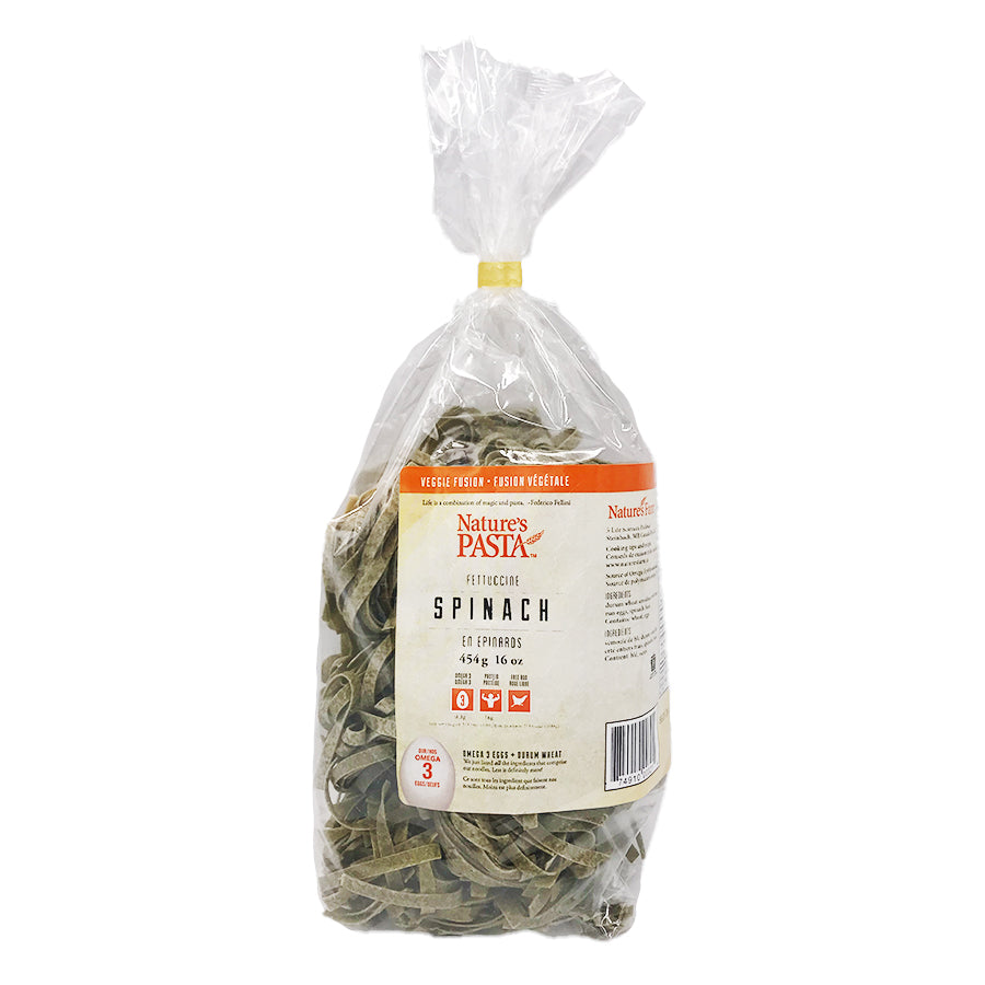 Nature's Farm - Spinach Fettucine (454g)