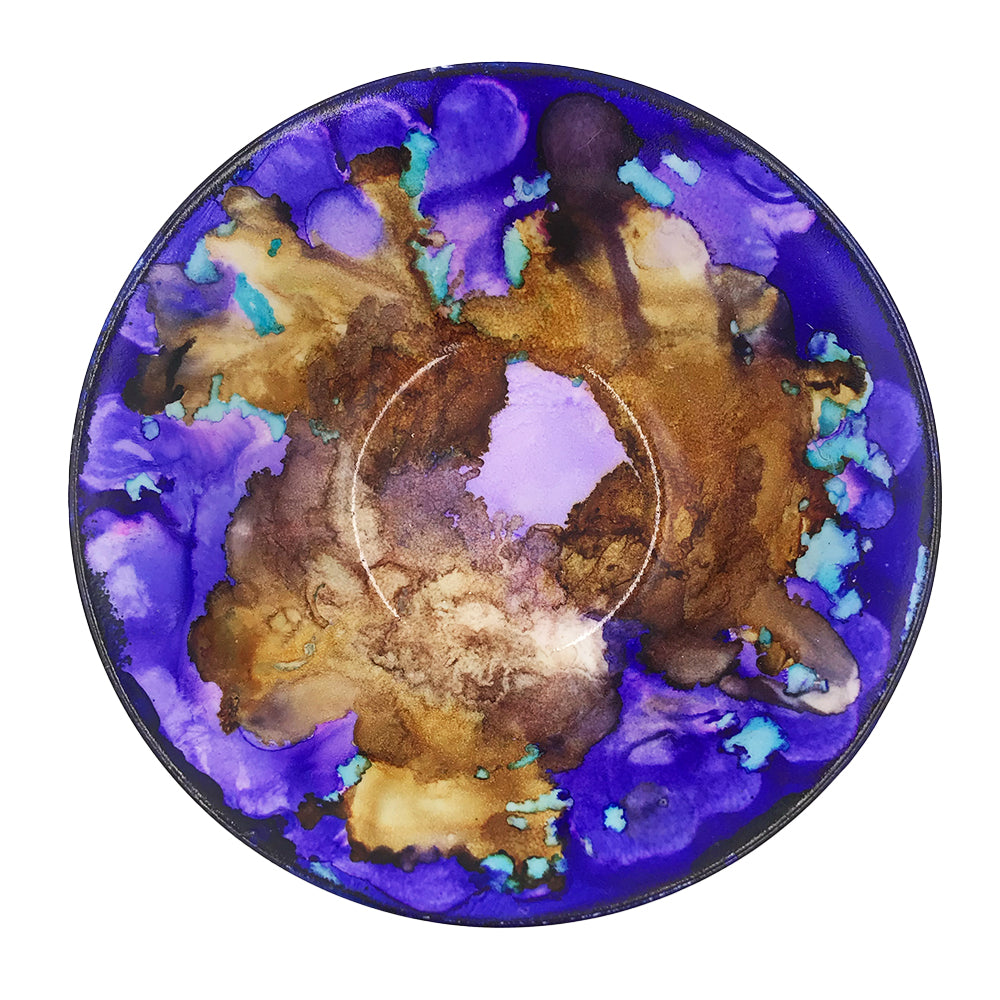 Wanderings Art - Alcohol Ink Bowl (Medium)