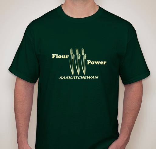 Flour Power Saskatchewan T-Shirt
