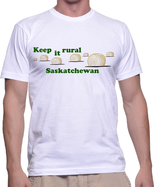 Keep it Rural Saskatchewan T-Shirt