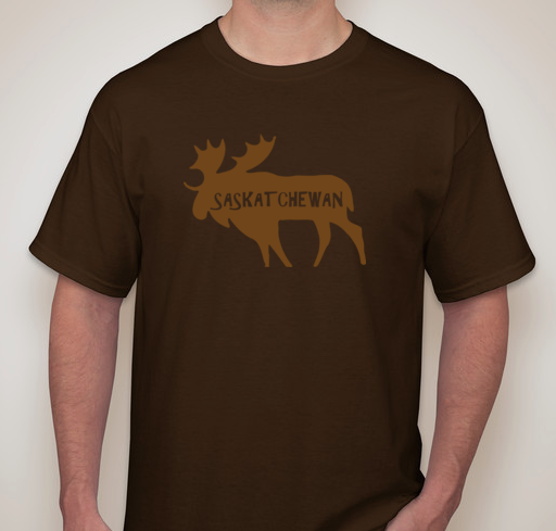 Bold Clothes - Saskatchewan Moose T-Shirt