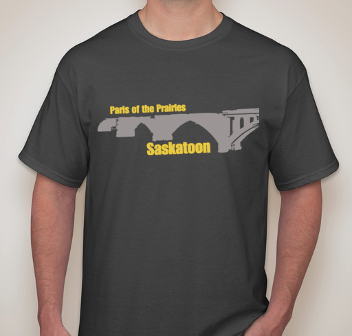 Paris of the Prairies Saskatoon T-Shirt