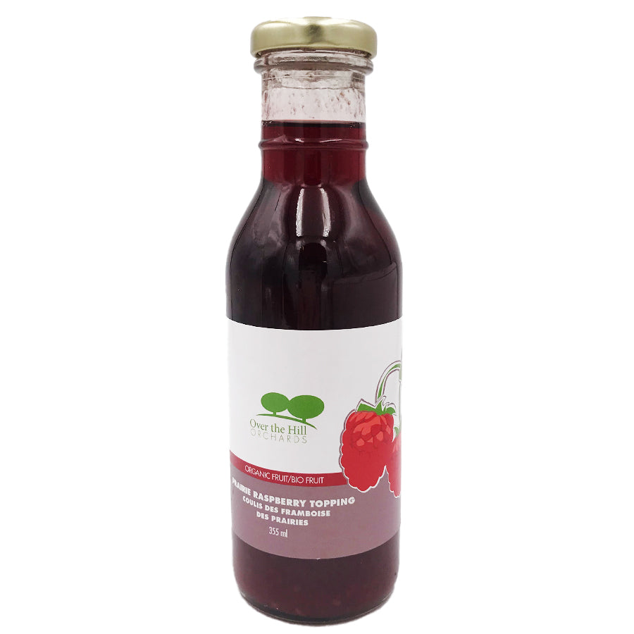 Over the Hill Orchards - Organic Raspberry Topping (355 mL)