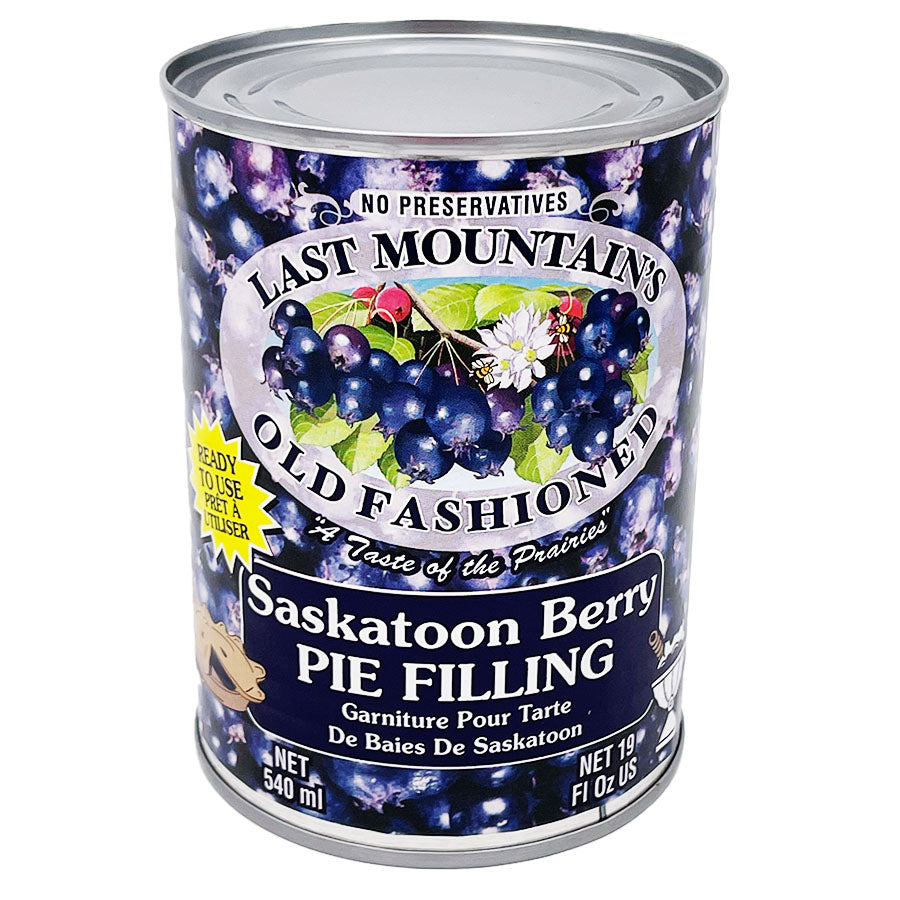 Last Mountain Berry Farm - Saskatoon Pie Filling (540 mL)