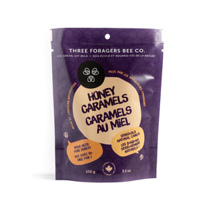 Three Foragers - Honey Caramels (100 g)