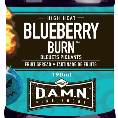 D.A.M.N. Fine Foods - Spicy Fruit Spread: Blueberry Burn (190 ml)