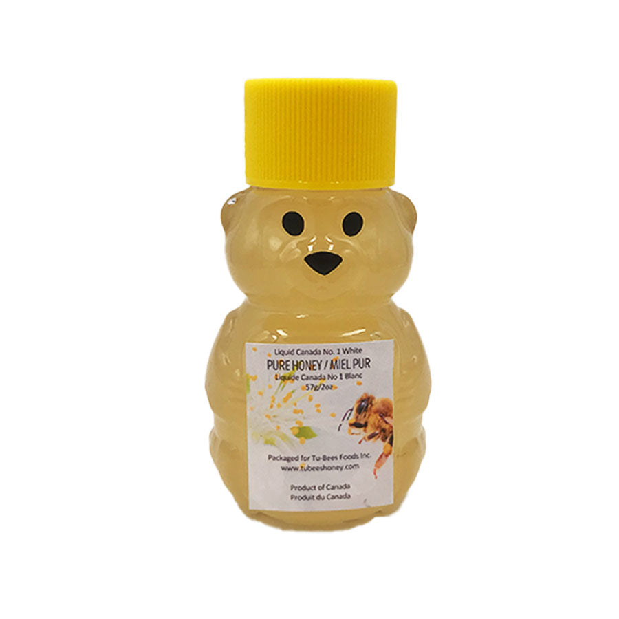 Tu-Bees Gourmet Honey - Liquid Honey Bear (57g/2oz)