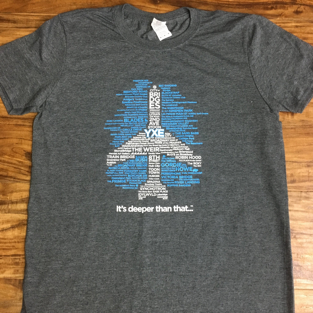 Etched in Lifestyle - YXE Plane T-Shirt
