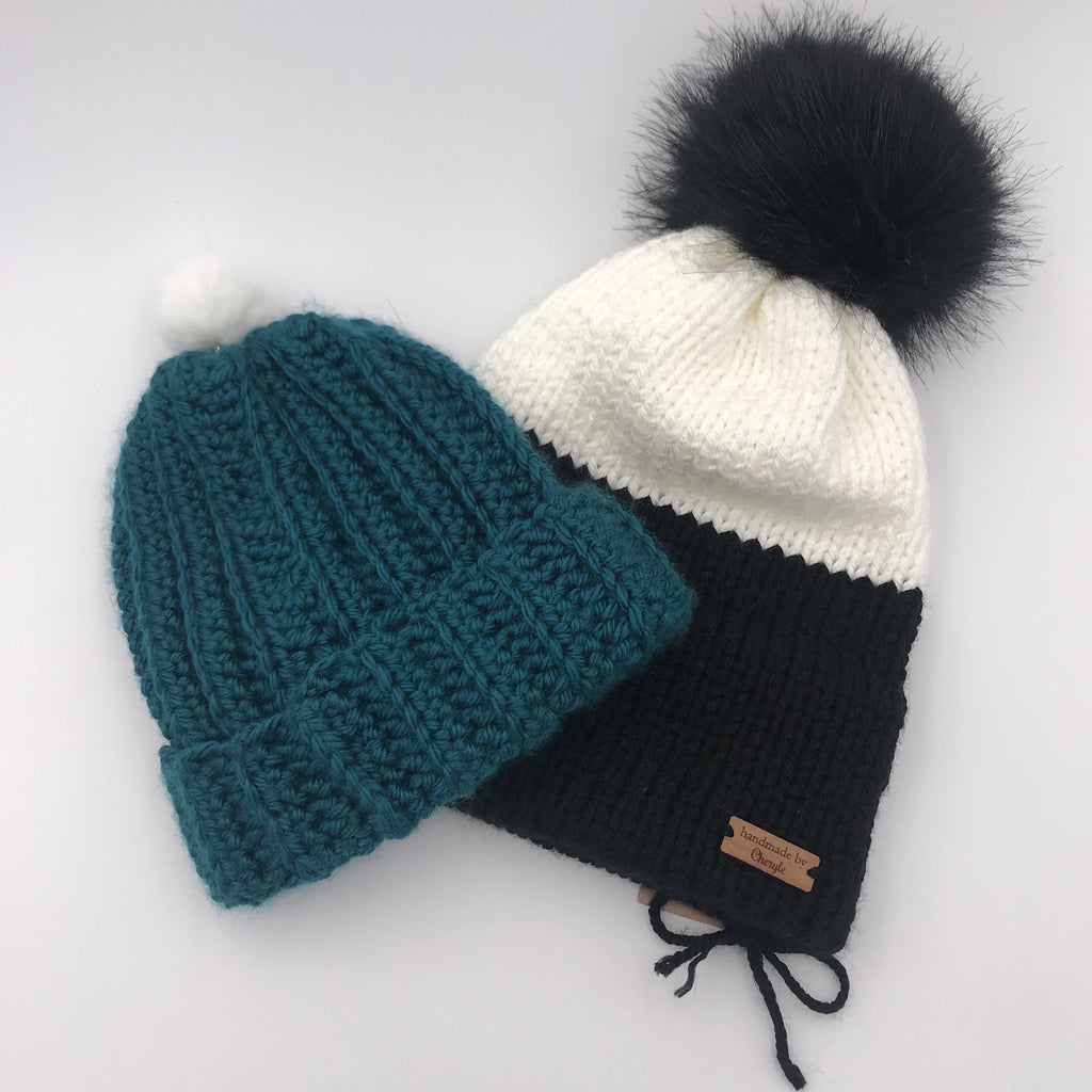 Handmade by Cheryle - Assorted Toques