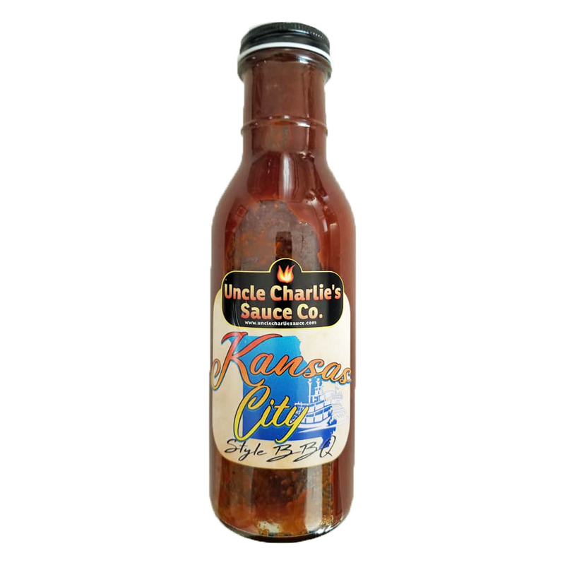 Uncle Charlie's Sauce Co. - Kansas City BBQ Sauce (350 ml)