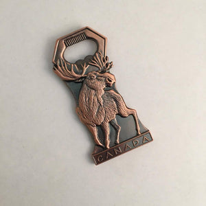Reppa Flags & Souvenirs - Bottle Opener: Moose