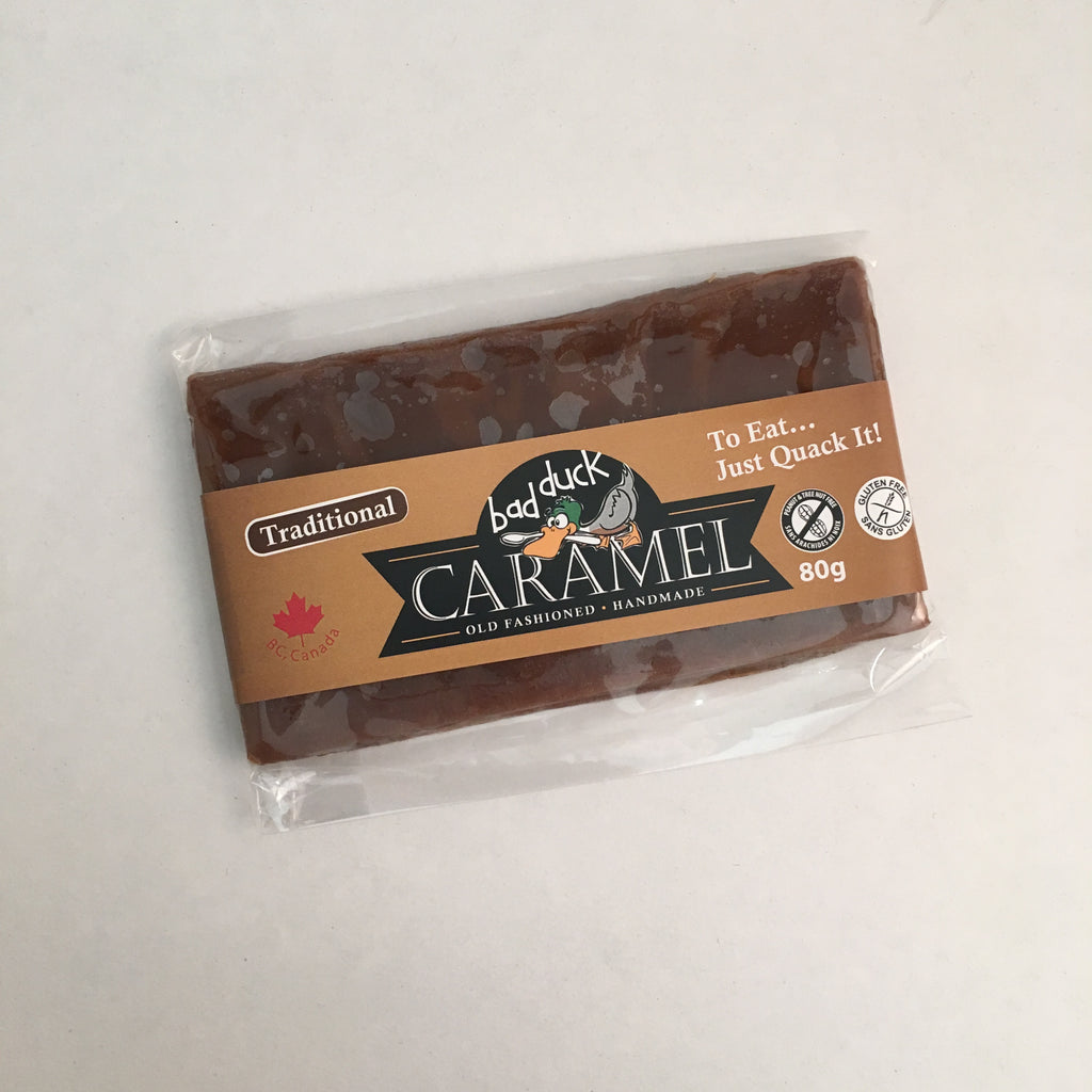 Bad Duck Caramel - Old Fashioned Caramel: Traditional (80g)
