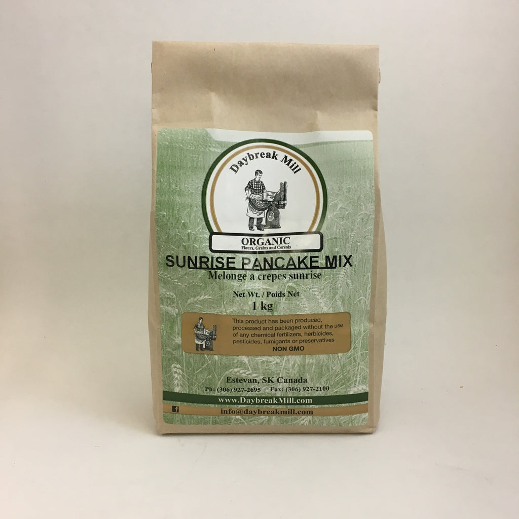 Daybreak Mill - Organic Pancake Mix: Sunrise Pancake Mix (1 kg)