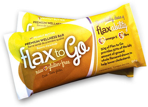 Flax to Go - Premium Wellness Bar (50g)