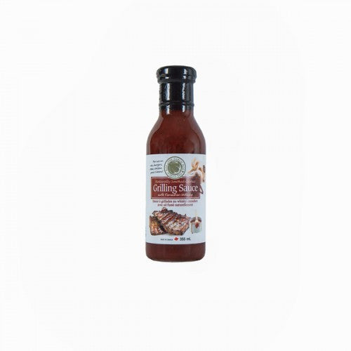 The Garlic Box - Grilling Sauce: Naturally Smoked Garlic with Canadian Whisky (355 mL)