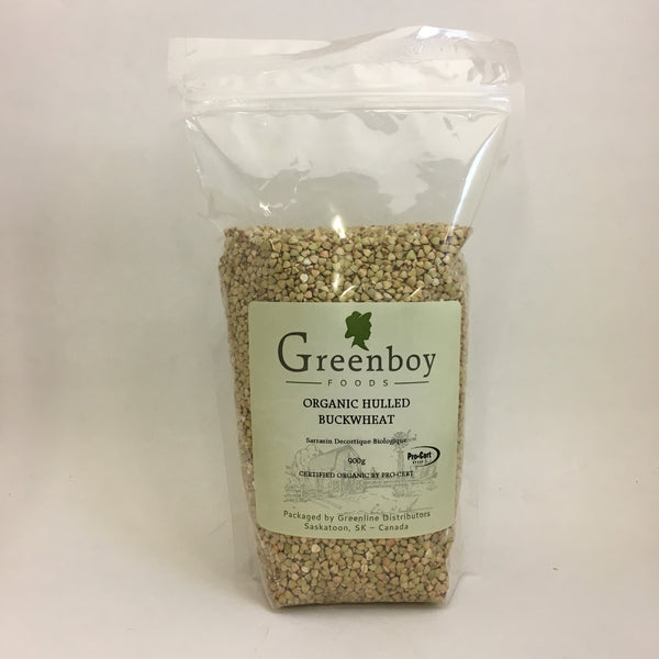 Greenboy Foods - Organic Hulled Buckwheat Groats (900g)