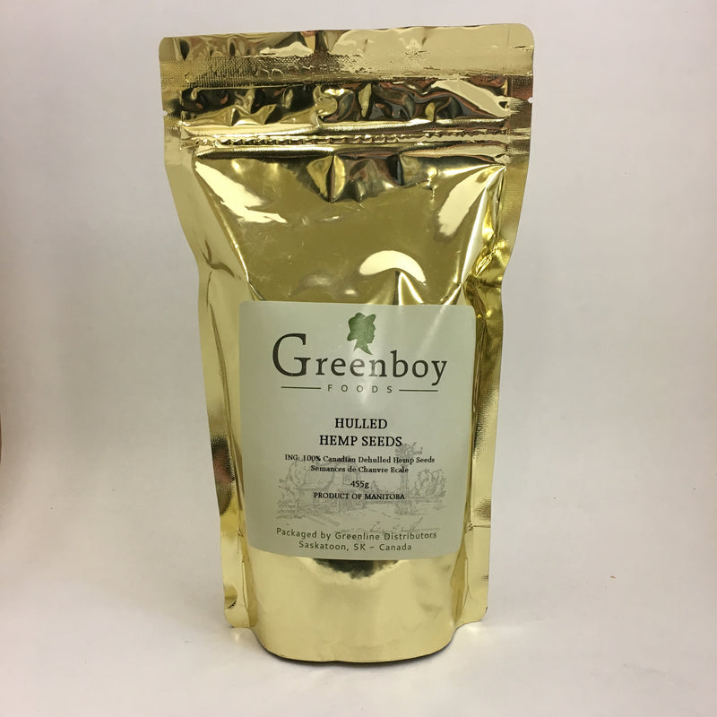 Greenboy Foods - Hulled Hemp Seeds (455 gr)