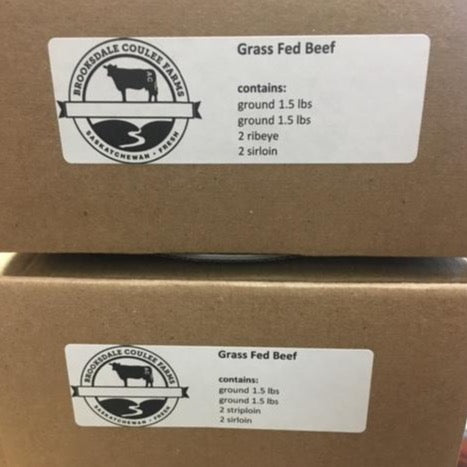Brooksdale Coulee Farms - Grass Fed Mixed Beef Box