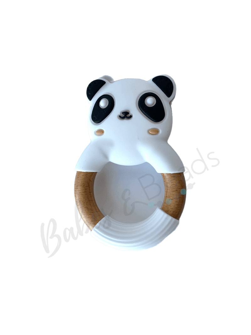 Babe and Beads- Panda Ring