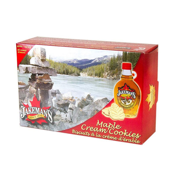 Jakeman's Maple Products - Maple Cream Cookies (400g - 18 cookies)