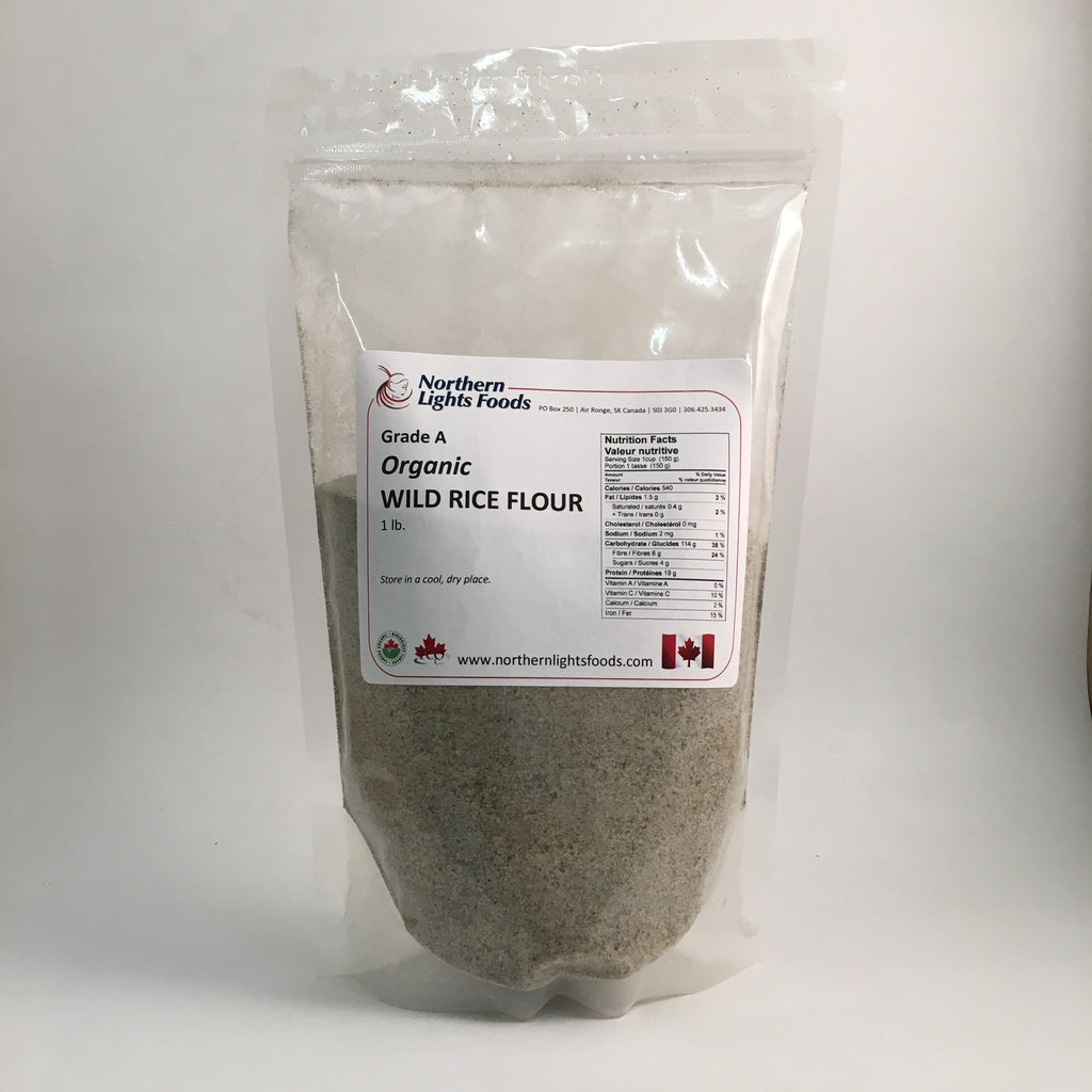 Northern Lights Foods - Organic Wild Rice Flour (1 lb)