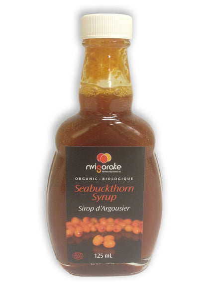 Northern Vigor Berries - Organic Seabuckthorn Syrup (125 mL)