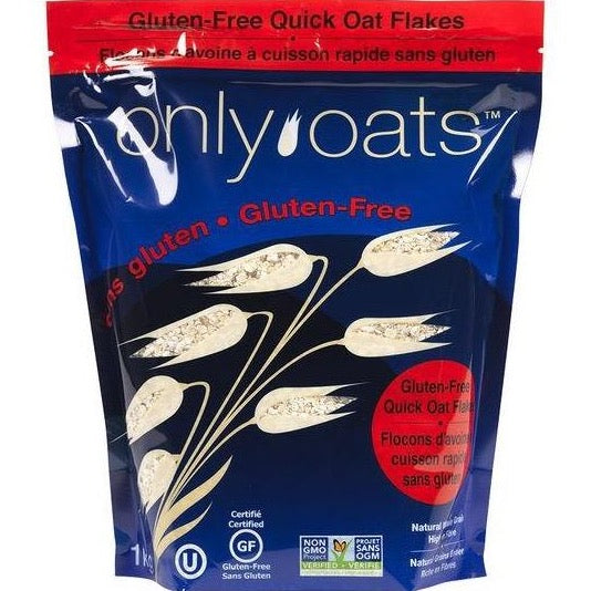 Only Oats - Pure Whole Grain Quick Oat Flakes (1kg)