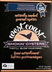 West Coast Smokin' Oysters
