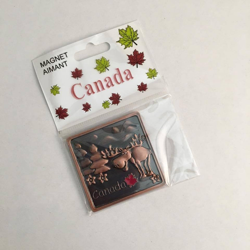 Reppa Flags & Souvenirs - Magnet with Moose