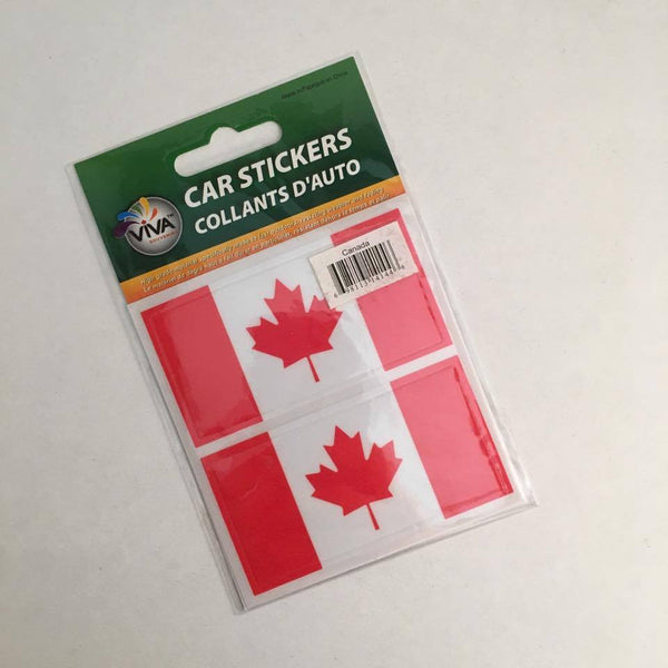 Reppa Flags & Souvenirs - Car Stickers: Canada Flag