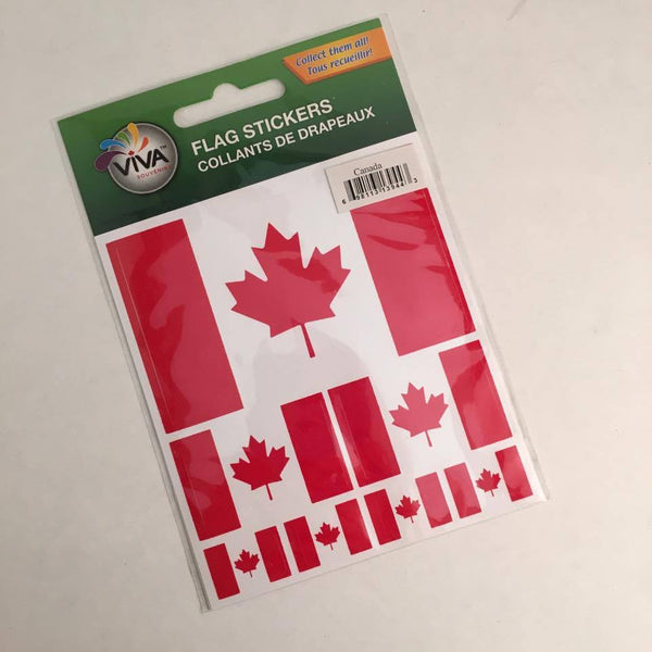 Reppa Flags & Souvenirs - Stickers: Canada Flag