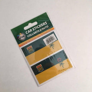 Reppa Flags & Souvenirs - Car Stickers: Saskatchewan Flag