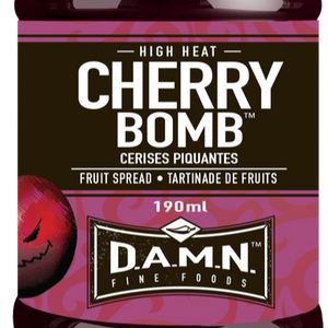 D.A.M.N. Fine Foods - Spicy Fruit Spread: Cherry Bomb (190 ml)