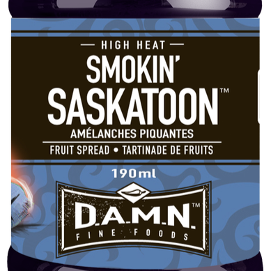 D.A.M.N. Fine Foods - Spicy Fruit Spread: Smokin' Saskatoon  (190 ml)