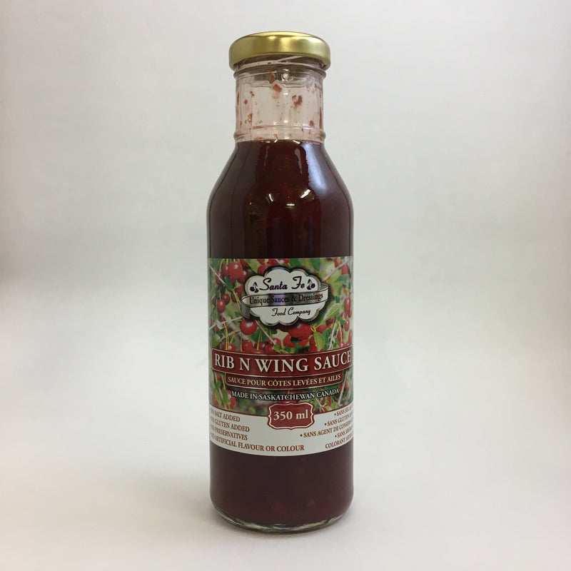 Santa Fe Foods - Sour Cherry Rib and Wing Sauce (350 mL)