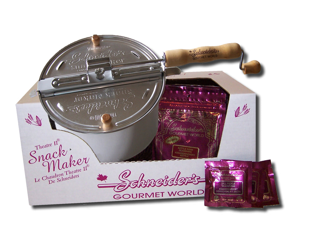 Schneider's Gourmet World - Theatre II Snack Maker Gift Pack