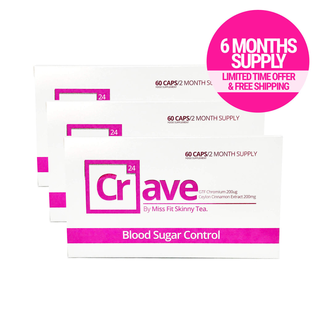CRAVE 6 Month Supply - FREE SHIPPING