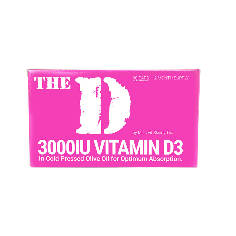 The D - High Strength, Highly Absorbable Vitamin D3 for Women